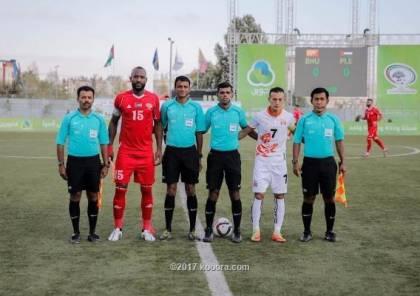 البهداري: لاعبو فلسطين على قدر كبير من المسؤولية