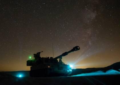 جيش الاحتلال يجرى مناورات عسكرية ليلية بالمناطق الساحلية
