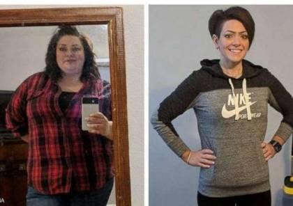 """خسرت ثلثي وزنها.. سيدة تروي قصتها مع """"الإنجاز الخارق"""""""