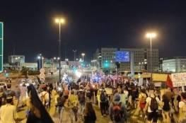 مئات الالاف من الإسرائيليين في القدس يتظاهرون ضد نتنياهو