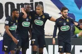 موناكو وباريس سان جيرمان يبلغان ثمن نهائي كأس فرنسا
