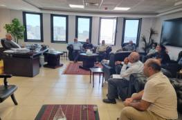 غنيم: لجنة فنية لدراسة واقع المياه جنوب نابلس