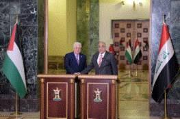 الرئيس: قبور شهداء العراق في فلسطين تشهد على مواقفه تجاه شعبنا