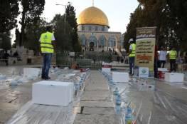 """الأوقاف الإسلامية تُطالب المصلين بمواصلة الاعتكاف داخل """"الأقصى"""""""