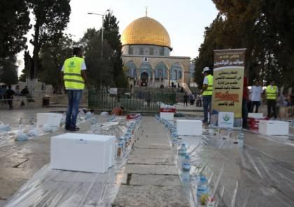 الاحتلال يمنع ادخال وجبات إفطار للصائمين في الأقصى