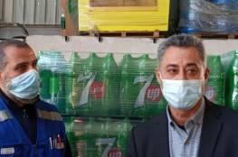 غزة: وكيل وزارة الاقتصاد يتفقد المصانع المتضررة جراء القصف الإسرائيلي