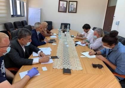 """وكيل وزارة التنمية الاجتماعية يبحث مع """"أوتشا"""" آليات العمل والتنسيق في قطاع غزة"""