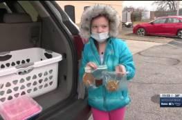 فيديو.. طفلة تبيع الحلويات لدفع تكاليف جنازة والدها