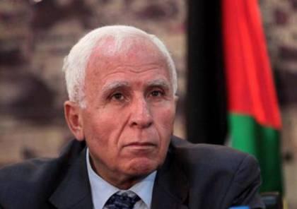 الأحمد: حماس لم توافق حتى الآن على تحديد موعد لذهاب وفد المنظمة لغزة