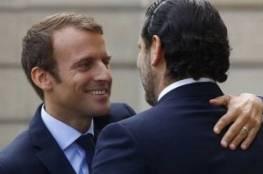 """الرئيس الفرنسي يغرّد بالعربية ترحيباً بـ""""الحريري"""".. وهذا ما كتبه"""