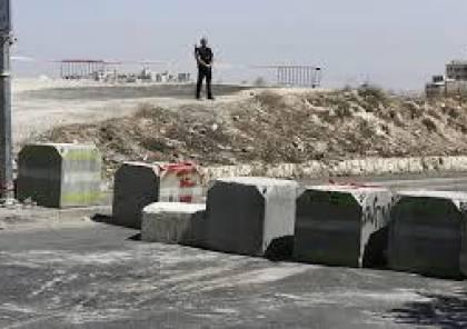 جيش الاحتلال يزيل الحواجز عن مداخل يعبد