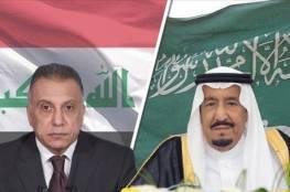 الملك سلمان يجري محادثات مع الكاظمي ويوجه دعوة له لزيارة السعودية