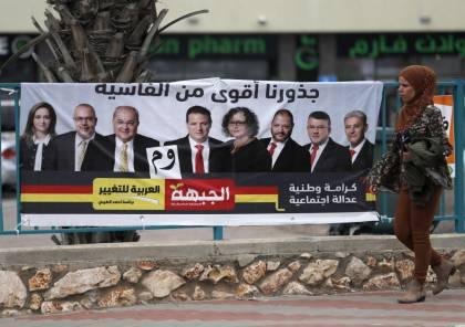 استطلاع: نسبة التصويت في المجتمع العربي تصل إلى 57% وحصول المشتركة على 8 مقاعد