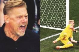 أسطورة حراسة المرمى الدنماركية بيتر شمايكل: ضربة جزاء إنجلترا أمام الدنمارك فضيحة تحكيمية