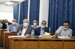 غزة: التشريعي يوجه أسئلة برلمانية للدعليس وعدد من وكلاء الوزارات