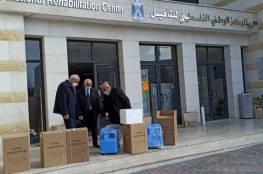 اللواء حميد يسلم المركز الوطني دفعة جديدة من مولدات الأوكسجين