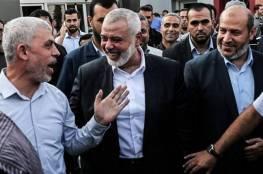 حماس:ذاهبون للقاهرة بعقول وقلوب مفتوحة لنحقق الشراكة الفلسطينية