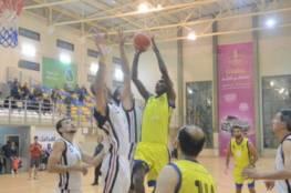 فوز غزة الرياضي على خدمات خانيونس بدوري السلة