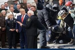 حملة ترامب تستخدم بالخطأ صورة لاحتجاجات أوكرانيا على أنها في أمريكا