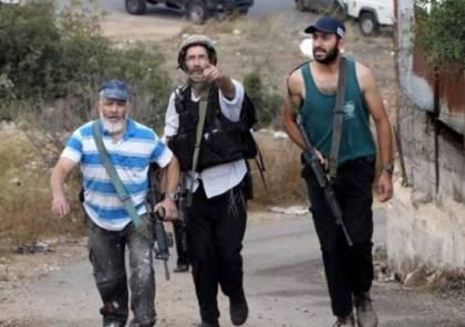 مستوطنون يطلقون النار صوب المواطنين عند مفترق دير شرف غرب نابلس