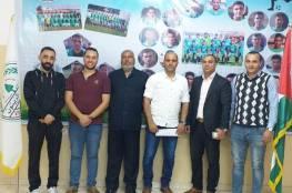 استقالة مدرب جديد في دوري غزة