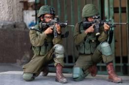 اصابة شاب برصاص الاحتلال في الجلمة