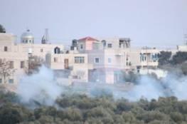 إصابات خلال مواجهات مع الاحتلال في تقوع
