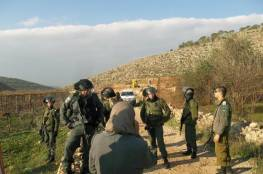 الاحتلال يخطر بوقف العمل في مسجد بالأغوار الشمالية
