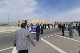 إطلاق سراح عدد من معتقلي الاحتجاج على تجريف المحاصيل في قرية سعوة  بالنقب