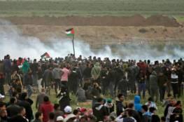 """غزة: استعدادات للمشاركة في جمعة """"يوم الاسير الفلسطيني"""" بمخيمات العودة شرقي القطاع"""