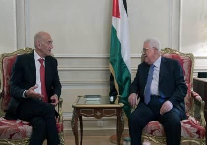"""أولمرت يكشف موقف نتنياهو من """"الصفقة"""" .. لهذا قابلت عباس"""