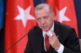 """إردوغان يدعو من شمال قبرص الى محادثات حول الجزيرة على أساس """"دولتين"""""""