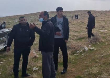 مواطنون يتصدون لمستوطنين اقتحموا أراضي شرقيّ بيت لحم