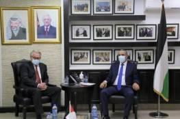الشيخ يلتقي المبعوث الأممي الجديد لعملية السلام