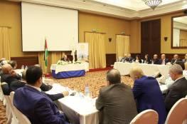 محافظ سلطة النقد يلتقي بممثلي المصارف والصرافين ومؤسسات الإقراض في غزة