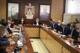 اجتماع تنسيقي في نابلس بين محافظي محافظات شمال الضفة ووزيرة الصحة