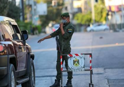الداخلية تقرر تشديد إجراءات الإغلاق في مناطق بمحافظتي غزة والشمال