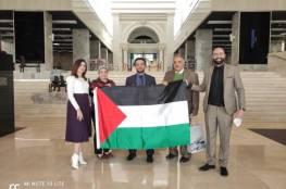 سفارتنا بالقاهرة تودع 100 كتاب فلسطيني بمكتبة العاصمة الإدارية