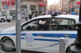 نابلس: الشرطة تضبط 35 مركبة مخالفة لإجراءات الطوارئ