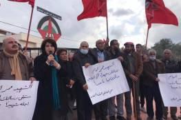 جنين: تدشين ميدان الشهيد عمر القاسم في بلدة عرابة