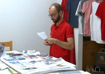 صور: أول مصمم أزياء للرجال في قطاع غزة يتطلع للعالمية