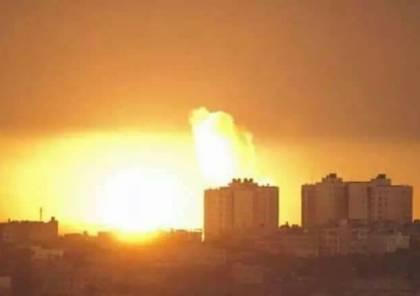 بالفيديو.. 9 قتلى في قصف إسرائيلي لمستودع أسلحة بدمشق