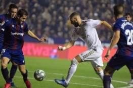 فيديو.. ريال مدريد يهدي الصدارة لبرشلونة بالخسارة أمام ليفانتي