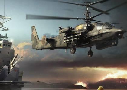 """شاهد.. """"تماسيح"""" الجيش المصري الروسية في وضع الاستعداد الهجومي بالبحر المتوسط"""