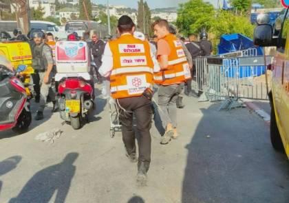 شاهد: اصابة 7 من شرطة الاحتلال في عملية دهس قي القدس المحتلة واستشهاد المنفذ