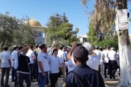 (40) مستوطناً يقتحمون المسجد الأقصى بحماية مشددة
