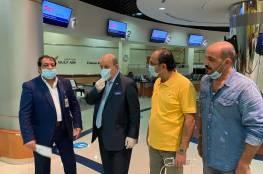 شاهد: السفير الفلسطيني خالد عارف يغادر البحرين