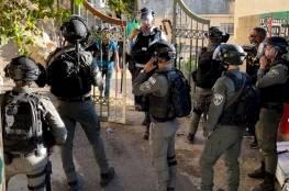 """الاحتلال يقمع """"ماراثون القدس"""" ويصيب 14 مواطنا ويهدم خيمة التضامن في سلوان"""