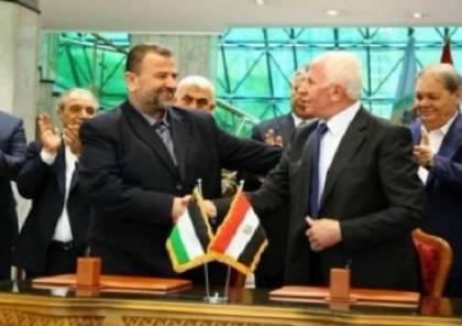 قيادي فلسطيني: فتح وحماس ترغبان بالوصول لمصالحة شاملة وجهود مصرية تبذل لاتمامها ولكن!