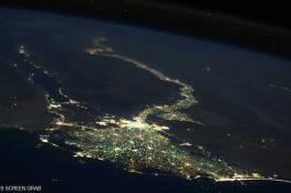 صورة لمصر من الفضاء تسر الناظرين